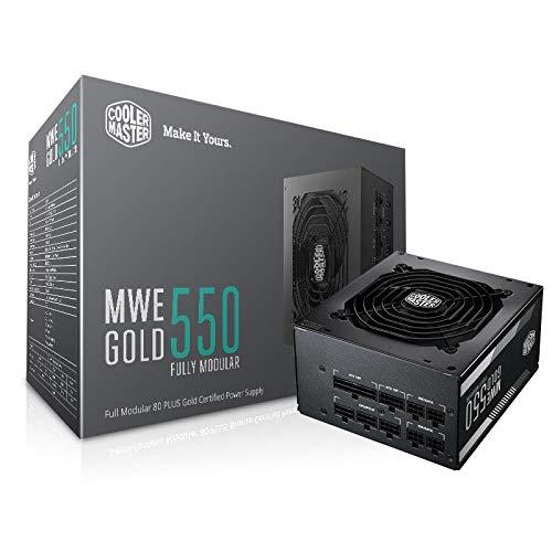 Cooler Master MWE Gold 750 W 80+ Gold Certified Fully Modular ATX Power Supply