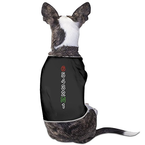Black Small Dog Shirt Comfortable Motorcycle Gear Shift Racing Dog Bowls
