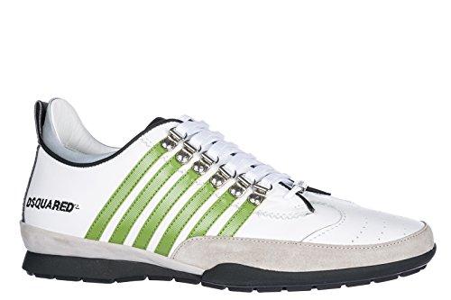 Chaussures Pour Hommes Dsquared2 Chaussures Pour Hommes En Cuir Espadrilles 251 Blanc
