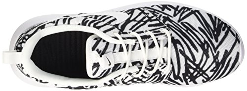 Roshe Scarpe Print Donna NIKE Wmns Ginnastica black da Bianco One White White aggwI
