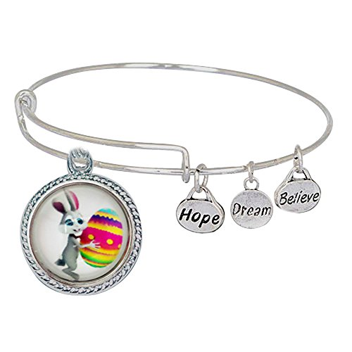 Expandable Bangle Bracelet Easter Included