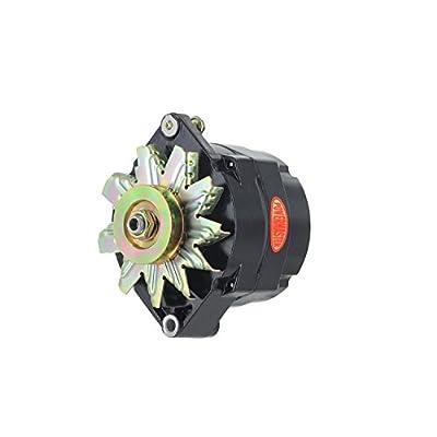 Powermaster Performance 57293 Alternator 12si 150 Amp 100 Idle 1V Pulley Black Alternator: Automotive