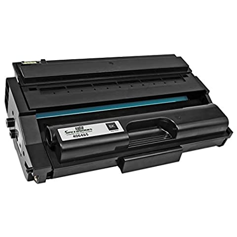 Speedy Inks - Ricoh Compatible 406465 High Yield Black Laser Toner Cartridge for use in Aficio SP 3400N, SP 3400SF, SP 3410DN, & SP (Ricoh 3400n)