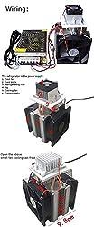 Nrthtri smt 12V 5A DIY Electronic Semiconductor Refrigerator Radiator Cooling Film Equipment Eater