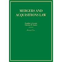 Mergers and Acquisitions Law (Hornbooks)