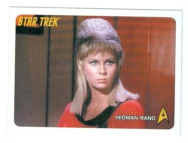 Yeoman Janice Rand Trading Card Star Trek 2006 Rittenhouse 9 Grace
