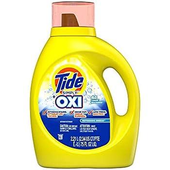 Amazon Com Tide Simply Plus Oxi Liquid Laundry Detergent