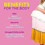 Pink Stork DHA: Prenatal DHA Multivitamin, Enhances Baby's Brain + Nervous System Development, Support from Prenatal Vitamins + Omega 3 + Fish Oil, Women-Owned, 60 Capsules