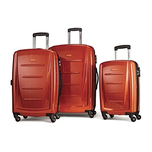 Samsonite Winfield 2 Fashion 3 Piece Spinner Nesting Set (3 pc Set Deep Orange) by Samsonite