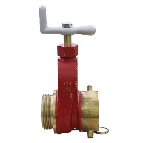 Brass 2 1/2'' Fire Hydrant Gate Valve