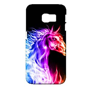 Samsung Galaxy S6 Edge Phone Case Mammal Bling Fluorescent Skin Cover Case Magical 3D Design Full Protection for Samsung Galaxy S6 Edge Cover Shell