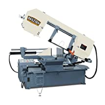 "Baileigh BS-24SA-DM Semi-Automatic Dual Mitering Horizontal Band Saw, 3-Phase 220V, 5hp Motor, 3/64"" Blade, 18"" Round Capacity"