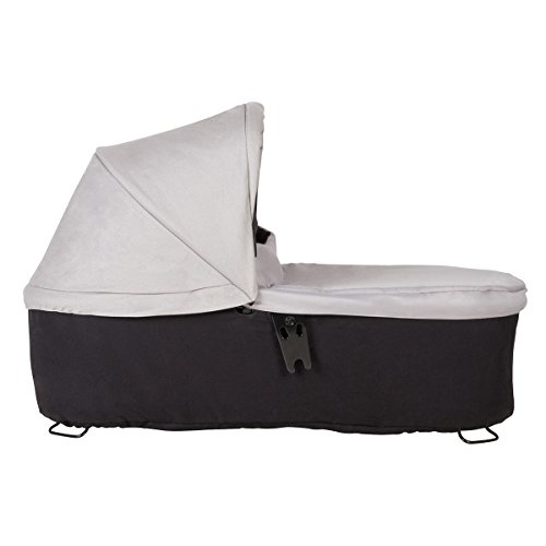 Mountain Buggy Carrycot+ for Duet, Silver by Mountain Buggy