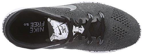 Nike Femmes Libres 5.0 Tr Ajustement 5 Prt Chaussures De Course Noir (6)