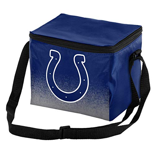 Forever Collectibles NFL Indianapolis Colts Gradient Print Lunch Bag Cooler, Indianapolis Colts Standard ()