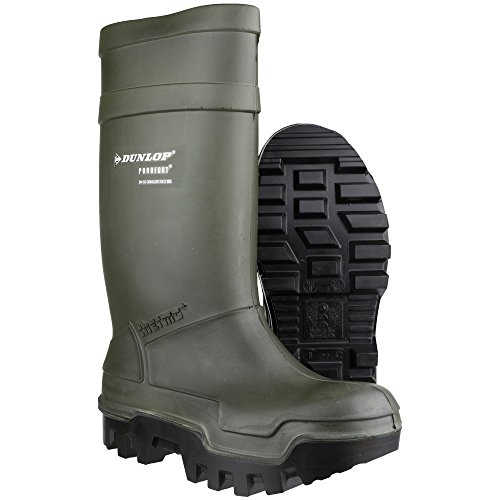 DunlopC662933 S5 THERMO+ , Botas de caña alta de goma Unisex Verde