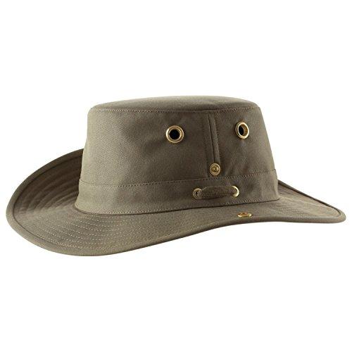 Tilley Endurables T3 Traditional Canvas Hat,Olive,7.75