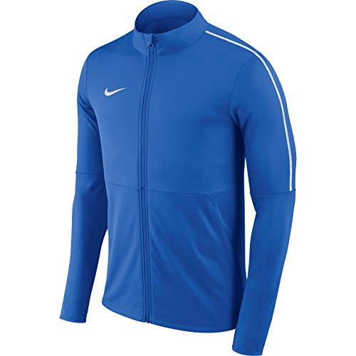 NIKE Park 18 Knit Track Jacket Men's (Royal Blue, (Nike Men Sport Jackets)