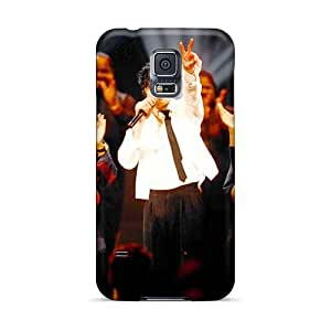 Scratch Resistant Cell-phone Hard Cover For Samsung Galaxy S5 (aoA16027CFfg) Allow Personal Design Nice Suede Series