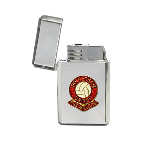 fan products of Rotherham United football club stormproof gas lighter