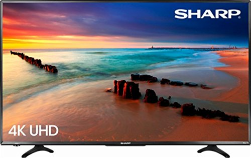 "Sharp 43"" LED 2160p Smart 4K Ultra HD TV Roku TV"