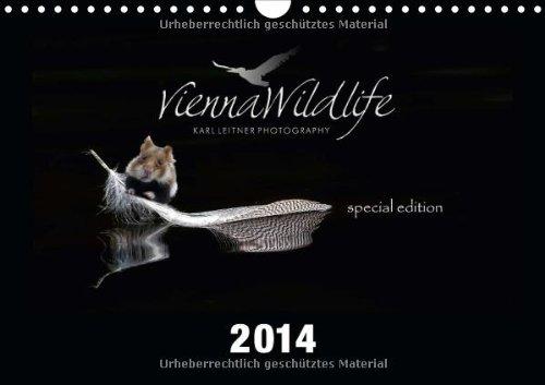 Vienna Wildlife - Freilebende Feldhamster mitten in der Stadt Wien (Wandkalender 2014 DIN A4 quer): Freilebende Feldhamster mitten in der Stadt Wien (Monatskalender, 14 Seiten)