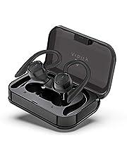Arbily Sport Kopfhörer Bluetooth Kabellose Kopfhörer, Sportkopfhörer Wireless Kopfhörer mit Premium Klangprofil, Trennbare/Automatische Koppelung / IPX7 Wasserdicht / 60 Stunden Spielzeit