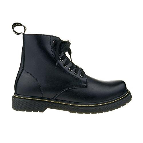 London Footwear ,  Herren Chelsea Boots Schwarz