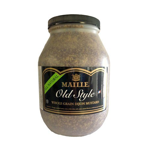 Maille Old Syle Dijon Mustard, Whole Grain - 8.6# Jar
