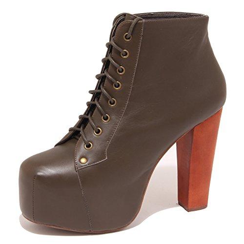 8002O tronchetto donna JEFFREY CAMPBELL LITA verde shoe boot woman Verde