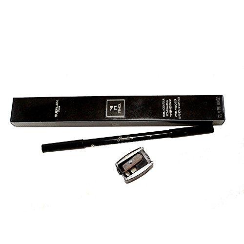 Guerlain The Kohl Contour Water Resistant Eye Pencil # 01 Black Jack Eyeliner for Women, 0.04 Ounce