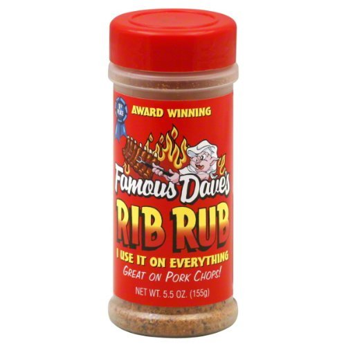 Famous Dave's Seasoning Rib Rub, 5.5-ounce (Pack of 12)