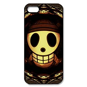 Hard Back Cover With Scared Skull design for iPhone 5/5s