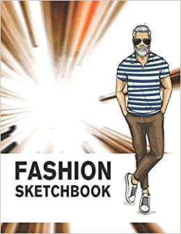 Buy Fashion Sketchbook Male Figure Template 440 Large Croquis For Easily Sketching Your Fashion Design Styles Drawing Illustration And Building Your Design Portfolio Book Online At Low Prices In India Fashion