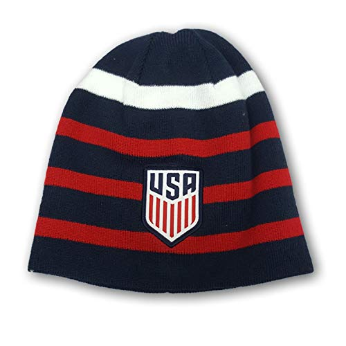 Icon Sports USA International Soccer Team Fitted Knit Beanie Winter Cap Hat