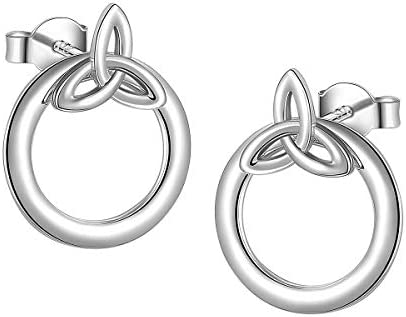 Ladytree Sterling Celtic Knot Earrings product image