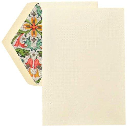 Crane & Co. Red Florentine Half Sheet (CH1301) by Crane & Co.