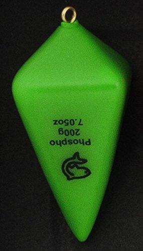 Plomos Portugal plastificadas Lemer verde fosforescente) 80 gr: Amazon.es: Deportes y aire libre