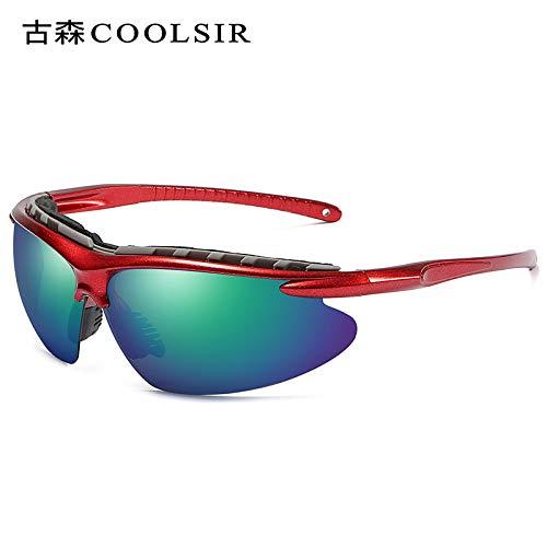 Miroir Frame Half d'alpinisme pour frame nbsp;Coloré Homme sunglasses Lunettes Mjia Polariseur De Soleil Sport Red Polarized nbsp;Sport Lunettes de wPqOA4