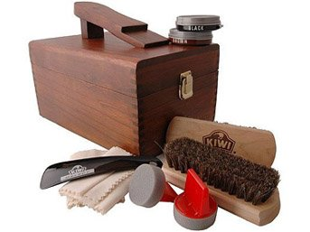 Buy shoe shine kit box