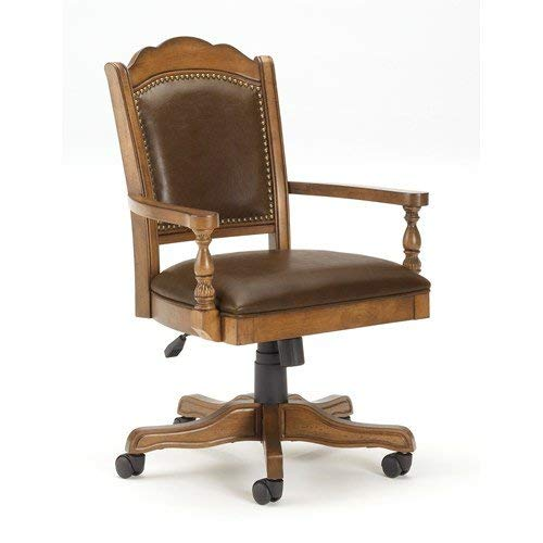 (Hillsdale Furniture 6060-801 Nassau Game Chair, Brown)