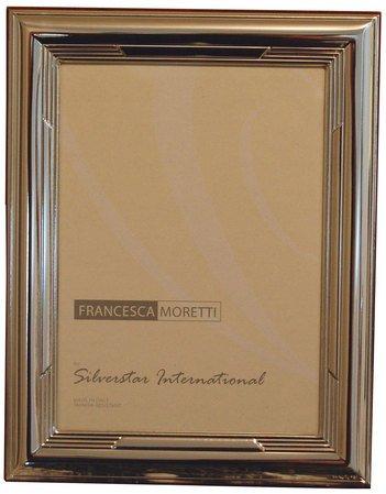 Silverstar International Engravable Italian Sterling Silver Frame    Rachelle (5u0026quot; ...