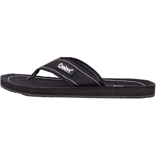 Canvas Flops Beach Black Shoes Sandals Holiday Summer Flip Womens qE7zwYtxO
