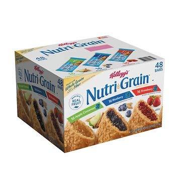 Kellogg Nutri-Grain Bars, 48 ct. AS by American Standart