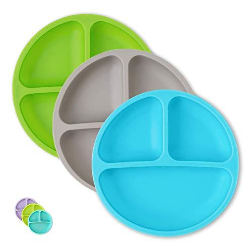Hippypotamus Toddler Plates