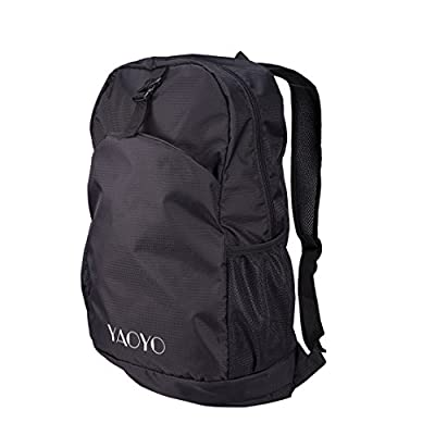 YAOYO Durable Waterproof Foldable Lightweight Nylon Backpack / Daypack for outdoor Camping Hiking
