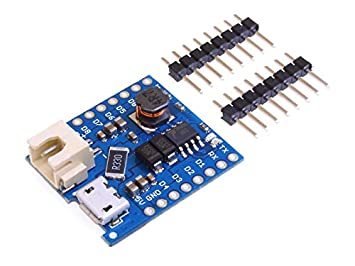 Battery Shield For WeMos D1 mini single lithium battery Charging /& Boost