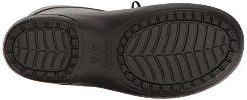Crocs Freesail Shorty Rainboot Blk, Botas de Lluvia para Mujer Nero (Black)