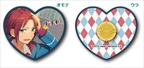 Ensemble Stars! Cushion Trading Collectable Badge Collection C Box 11 Pack BOX Character Double Side Can Pin Button Brooch Subaru Hidaka Makoto Yuuki Isara Rei Koga Kaoru Keito Souma Kuro Kiryu Ensky