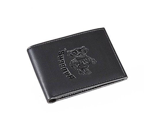 Team Sports America Leather Wisconsin-Madison Badgers Bi-fold Wallet